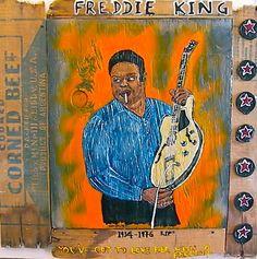 Freddie King outsider art, Dan Dalton