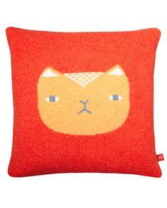 Orange Cat Cushion