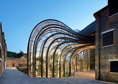 Thomas Heatherwick's Bombay Sapphire distillery -located at an old Victorian paper factory in Hampshire