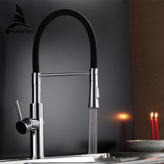 Black And Chrome Kitchen Faucets astra walker black tapware - google search   ideas for our