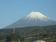 Bullet train and Mt. Fuji in the distance.....something you never forget!