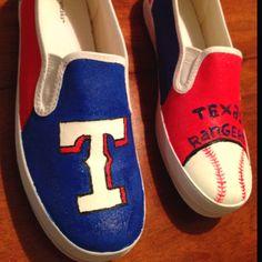 Texas rangers shoes!