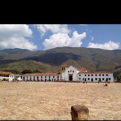 Villa de Leyva Plaza principal @Dituristico #SomosTurismo