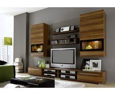 voici un meuble de t l noir design tr s original sur. Black Bedroom Furniture Sets. Home Design Ideas