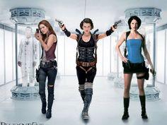 Resident Evil Movie Wallpaper