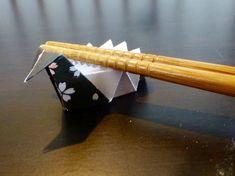 【折り紙】鶴の箸置きの折り方 お正月を豪華に!