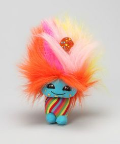 Take a look at this Cotton Candy Cutesies Rainbow Cookie Doll by Cotton Candy Cutesies on #zulily today!