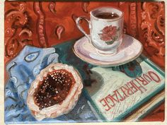 First painting of fresh off the easel! 10 Year Reunion, Butter Tarts, Canadian Painters, Western Art, Easel, My Images, Original Art, Fine Art, Fresh