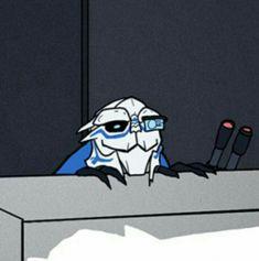 Mass Effect Ships, Mass Effect Funny, Mass Effect Garrus, Mass Effect Art, Mass Effect Universe, Commander Shepard, Alien Art, Dragon Age, Gurren Lagann