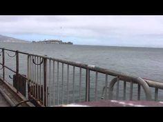 Time lapse video of Alcatraz in San Francisco California
