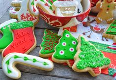 bolachas decoradas para o natal