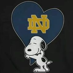 Notre Dame logo and Snoopy College Football Logos, Nd Football, Oklahoma Sooners Football, Football Quotes, Oregon Ducks Football, Notre Dame Football, Notre Dame Logo, Notre Dame Irish, Noter Dame