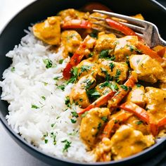 Thai Coconut Curry Chicken, Healthy Chicken Curry, Curry Chicken And Rice, Coconut Chicken Recipes, Indian Chicken Curry, Slowcooker Curry, Best Curry Recipe, Best Chicken Curry Recipe, Indian Red Curry Recipe