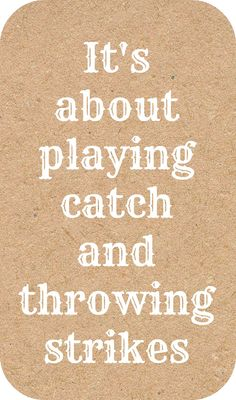 #Baseball.  My boys can throw, catch, pitch, and hit....because they practice and practice and practice....