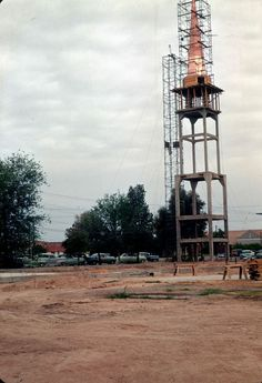 Building the steeple