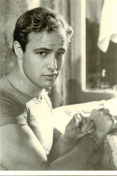 lilchocpot: Oh, how I wish I could watch 'A Streetcar Named Desire' in London. SO expensive and booked :( Marlon Brando in the B&W film adaption is just amazing.and he's so handsome *SIGH*