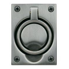 Baldwin 0395 2-1/2 Inch x 3-5/16 Inch Flush Cabinet Pull