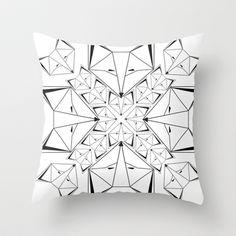 Arctic Skulk pillow