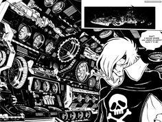 Captain Harlock manga (Leiji Matsumoto)