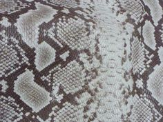 """Leather 12""""x12"""" Brown and off WHITE DIAMOND Python embossed Cowhide 2.5 oz / 1 mm PeggySueAlso? Limited E8135-09"""