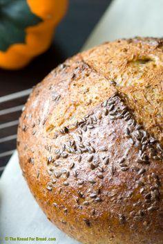 squash whole wheat bread