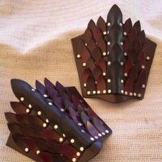 Bracer  Warrior Jewelry for Men and Women - The Beading Gem's Journal