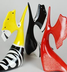 Eco Kids, Save The Bees, Art Object, Mid Century Design, Vintage Ceramic, Sculptures, Art Deco, Pottery, Birds