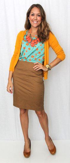 J's Everyday Fashion: Today's Everyday Fashion: Polka Dots, Four Ways
