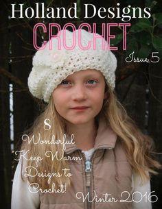 Holland Designs Crochet №5 Winter 2016 - 轻描淡写 - 轻描淡写