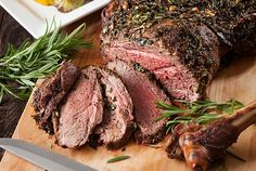 Barbecued Herb Lamb