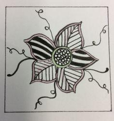 Zentangle by Terri of Zen Drawing Club