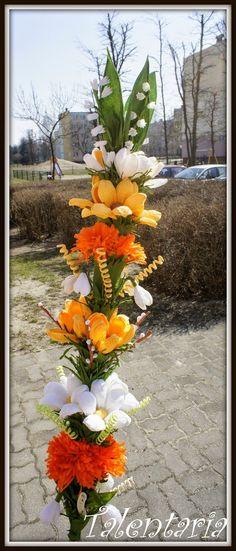 Zrób to z Nami - Palma Wielkanocna | Talentaria na Stylowi.pl Happy Easter, Plants, Diy, Happy Easter Day, Bricolage, Diys, Planters, Handyman Projects, Do It Yourself