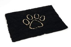 Dirty Dog Droogloopmat 88 x 68 cm - Zwart Doge, Pets, Animals, Doormat, Black, Euro, Products, Animales, Animaux