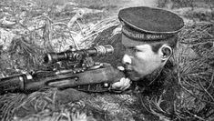 Soviet naval infantry .Rubaho Philip, Marine Corps sniper. Destroyed 346 officers and soldiers of the enemy), blew 8 bunker tank, mortar, prepared 72 sniper. Hero of the Soviet Union posthumously.