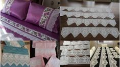 Yeni Pike Takımı Dantelleri Needle Lace, Handicraft, Valance Curtains, Embroidery, Quilts, Blanket, Knitting, Bed, Awesome