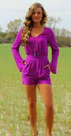 Lavish Boutique  - Dream Date Romper: Magenta, $48.00 (http://www.lavishboutique.com/dream-date-romper-magenta/)