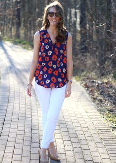 Stitch Fix Reviews | Stitch Fix Review by Megan: Oh my floral! | http://stitchfixreviews.com