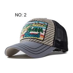 28b3f915d5bd9 Unisex Baseball Cap Breathable Summer Cap with Mesh Casual Outdoor Sport  Letters Trucker Hat Adjustable Snapback Hats