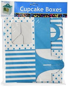 Check this out on our store  Turquoise Polka Dot Cupcake Boxes (12 pc) Check it out here! [product-url