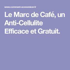 Le Marc de Café, un Anti-Cellulite Efficace et Gratuit.