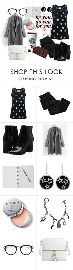 """""""I Don't Mind"""" by novistars-3012 ❤ liked on Polyvore featuring Current/Elliott, Avon, Bobbi Brown Cosmetics, Thierry Mugler, Tom Ford and Epic Chic"""