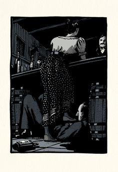 The Castle - Bill Bragg Illustration