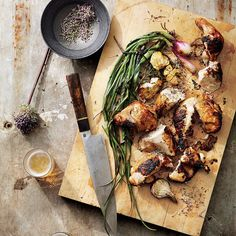 Make sure you keep your grill at a steady medium-level heat; if it's too hot, the chicken will char without cooking through.