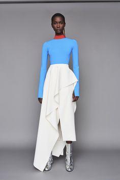 Solace London Odette Top Blue l Womenswear l Women fashion runway look outfit powder blue white Fashion 2020, Daily Fashion, High Fashion, Fashion Show, Fashion Outfits, Womens Fashion, Fashion Design, Fashion Stores, 50 Fashion