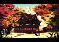 Tags: Fanart, Natsume Yuujinchou, Pixiv, Natsume Takashi, Madara, Hinoe (Natsume Yuujinchou), Hitotsume No Chuukyuu Youkai, Ushikao No Chuukyuu Youkai, Pixiv Id 596531