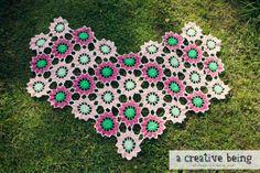 Items similar to Dancing Hearts Wrap Crochet Shawl Pattern PDF on Etsy Crochet Scarves, Crochet Shawl, Love Crochet, Crochet Flowers, Wrap Pattern, Clothes Crafts, Bellisima, Crochet Patterns, Crochet Ideas