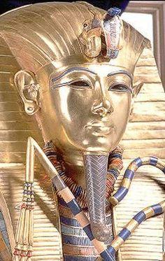 Innermost coffin of Tutankhamen, Cairo, Egypt
