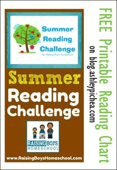Summer Reading Challenge with FREE Printable | a Summer Bucket List idea on blog.ashleypichea.com