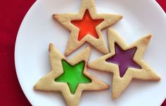 Stained Glass Cookies are a fun and tasty project for families
