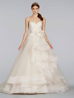 Bridal Gowns, Wedding Dresses by Lazaro - Style LZ3413